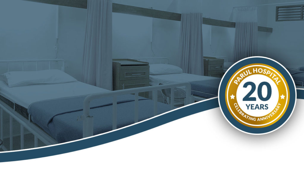 Parul hospital free health checkup on 20th anniversary